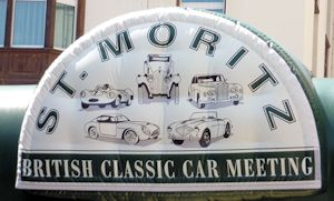 20th British Classic Car Meeting St. Moritz